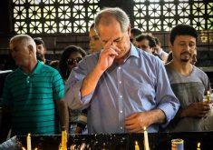 Ciro Gomes na basílica de Aparecida. (Foto: Leo Canabarro/Fotos Públicas)