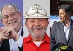 Ciro e Haddad devem disputar eleitorado de esquerda. (Foto: Reprodução)