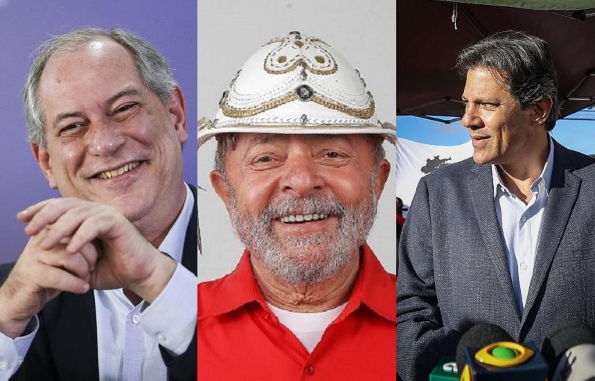 Sem Lula, Ciro e Haddad disputarão voto a voto no Nordeste