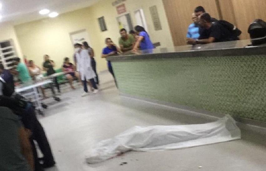 Homem é assassinado a tiros na recepção de hospital em Caucaia