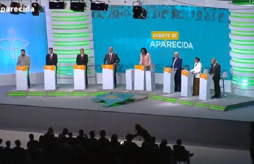 Sem Bolsonaro, Haddad é alvo em primeiro debate com participação do PT nas eleições 2018