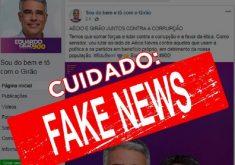 Eduardo Girão negou qualquer vínculo com Aécio Neves. (Foto: Reprodução)
