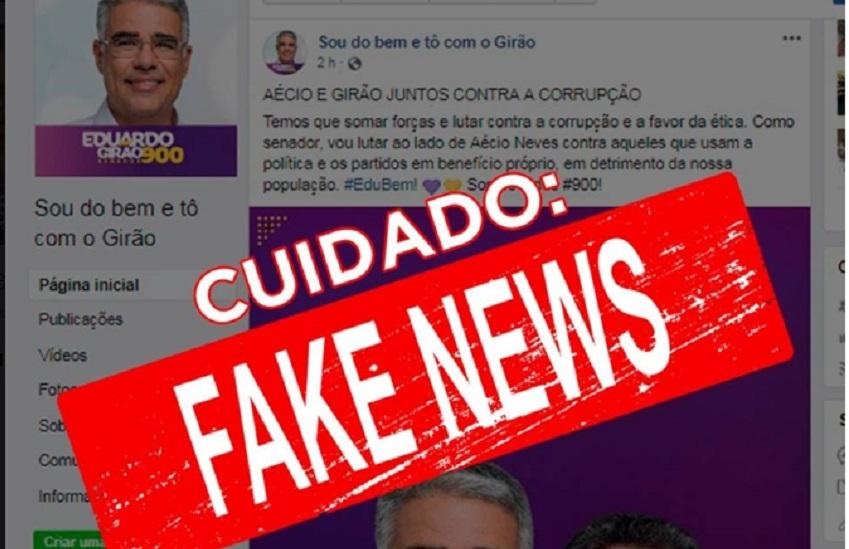 Candidato ao Senado Eduardo Girão é vítima de boato no Facebook