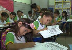 Alunos escola em referência a Ensino fundamental do Ceará é referência no país, mas destaque não se repete no ensino médio