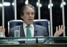 Eunício Oliveira assumiu a presidência da Câmara em 2017. (Foto: Marcos Brandão/Agência Senado)