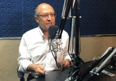 Geraldo Alckmin deu detalhes de seu plano de governo (FOTO: Roberta Tavares/Tribuna do Ceará)