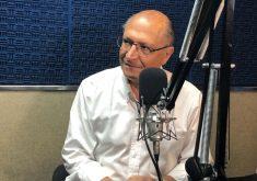 Geraldo Alckmin concedeu entrevista ao Sistema Jangadeiro neste sábado (FOTO: Roberta Tavares/Tribuna do Ceará)