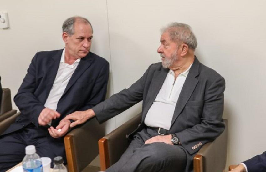 Da cadeia, Lula teria manipulado alianças no Nordeste para enfraquecer Ciro, diz revista