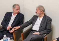 Ciro disse ter recebido convite para ser vice de Lula. (Foto: Ricardo Stuckert)