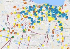 Mapa colaborativo de Fortaleza