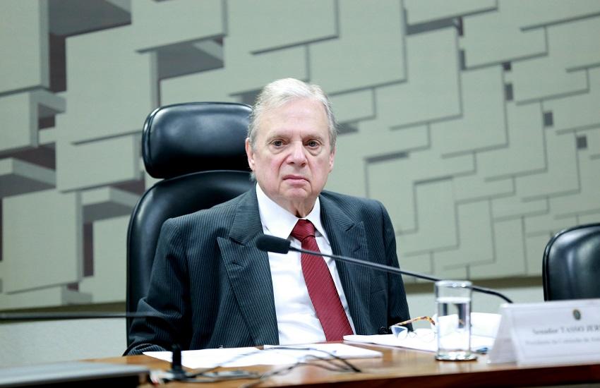 """Tasso Jereissati diz que Ciro """"está sendo incoerente"""" em trajetória política no Ceará"""