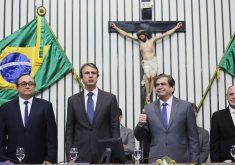 Governador Camilo Santana manterá maioria de aliados. (Foto: Maximo Moura/AL-CE)