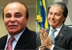 Aníbal Gomes e Eunício Oliveira não conseguiram se reeleger. (Foto: Divulgação e Agência Senado)