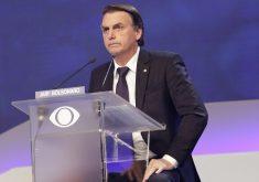Bolsonaro lidera as pesquisas de intenção de voto. (Foto: Kelly Fuzaro/Band)