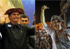 Pesquisa Datafolha mostra diferença de 12 pontos entre Bolsonaro e Haddad. (Fotos: Vladimir Platonow -Agencia Brasil e Ricardo Stuckert)