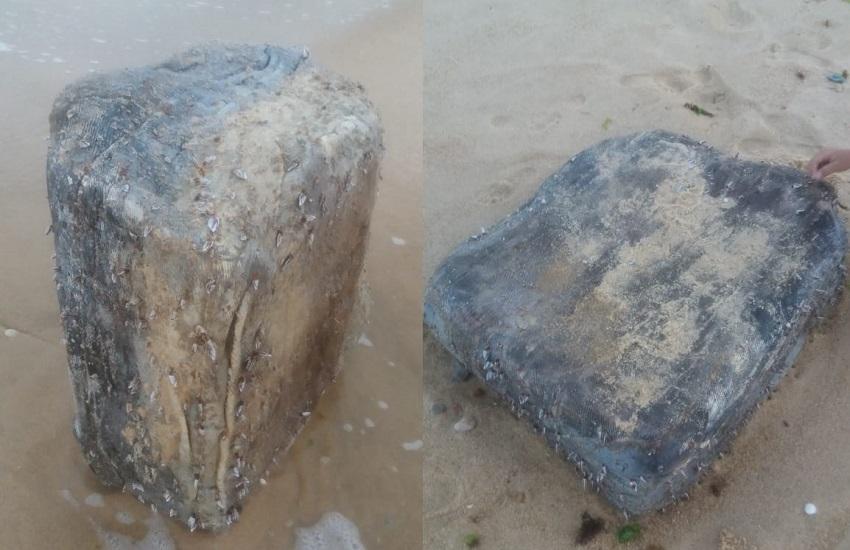 Perícia determinará ainda nesta semana o que são os pacotes misteriosos achados no litoral