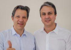 Camilo Santana e Fernando Haddad