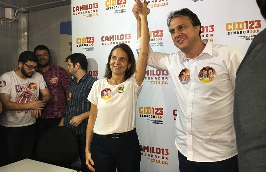 Camilo atingiu mais de 90% dos votos em 110 dos 184 municípios cearenses