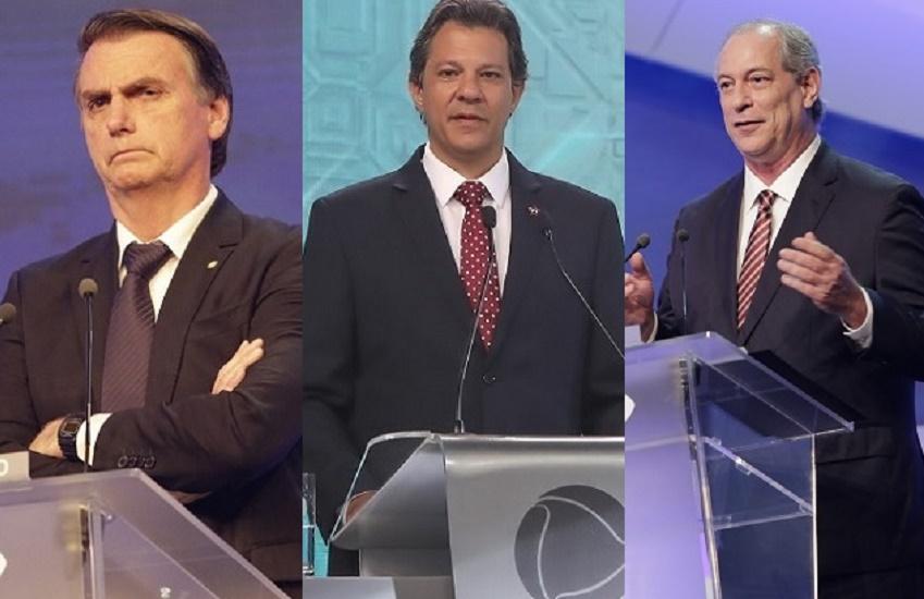 Atos em apoio a Bolsonaro, Haddad e Ciro ocorrem em Fortaleza e no interior do Ceará
