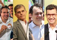Camilo Santana, General Theophilo, Ailton Lopes e Helio Góis participaram de debate no Sistema Verdes Mares.