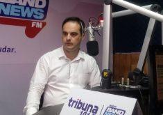 Capitão Wagner em entrevista para Tribuna Band News