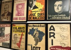 Mais de 20 cartazes fazem parte do acervo (FOTO: Gabriel Borges)