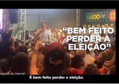 Vídeo do discurso de Cid foi usado na campanha de Bolsonaro. (Foto: Reprodução)