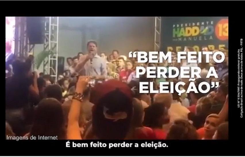 Vídeo de Cid Gomes falando mal do PT é usado na propaganda eleitoral de Bolsonaro