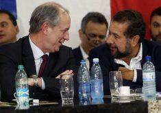 Ciro Gomes e o presidente do PDT, Carlos Lupi. (Foto: PDT)