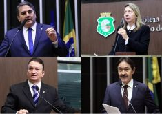 Cabo Sabino, Rachel Marques, Ferreira Aragão e Raimundo Matos não terão mandato em 2019.