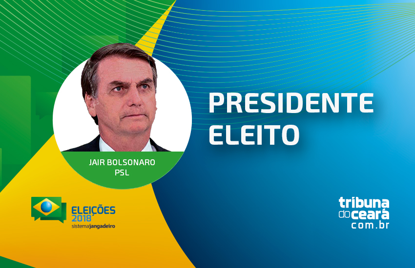 Jair Bolsonaro é eleito presidente da República do Brasil