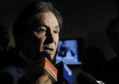 Eunício tenta reeleição ao Senado (Foto: Marcos Brandão/Senado Federal)