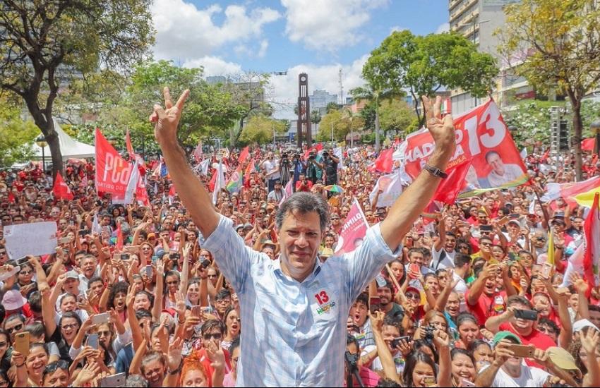 Haddad chama Bolsonaro de 'soldadinho de araque', ressalta Educação no Ceará e cita Cid Gomes