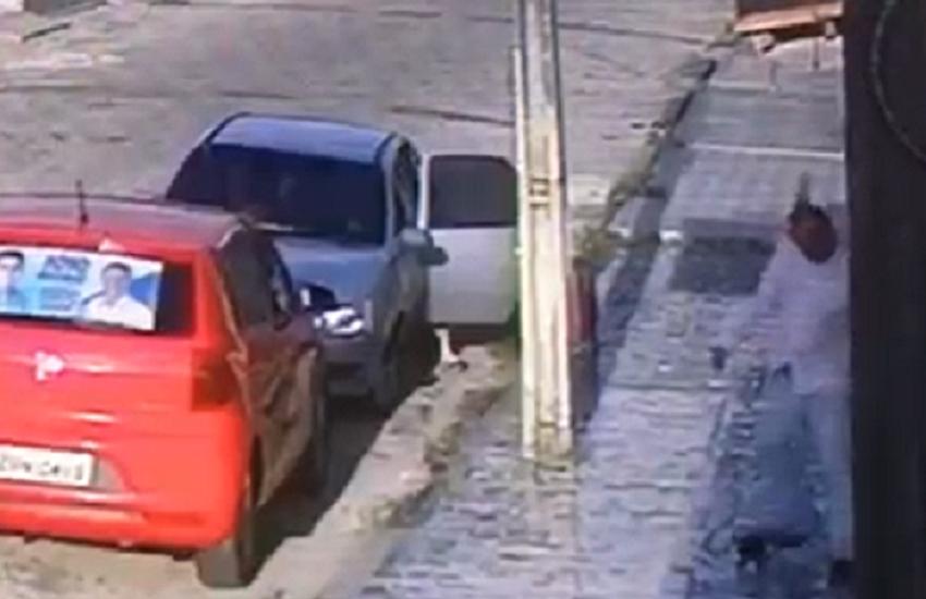 Polícia investiga caso de maus tratos a gata em frente a creche de Fortaleza