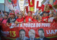Haddad fez caminhada em Fortaleza em 31 de agosto. (Foto: Ricardo Stuckert)