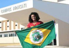 Jaciana Barbosa será a única estudante a representar o IFCE em Brasília (FOTO: Acervo pessoal)