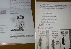 Secretaria de Educação diz que o posicionamento do professor não condiz com orientação pedagógica do município (FOTO: Reprodução)
