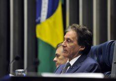Presidente do Senado nos últimos dois anos e aliado de Michel Temer, Eunício fez nomeações em importantes órgãos federais. (Foto: Marcos Brandão / Ag. Senado)