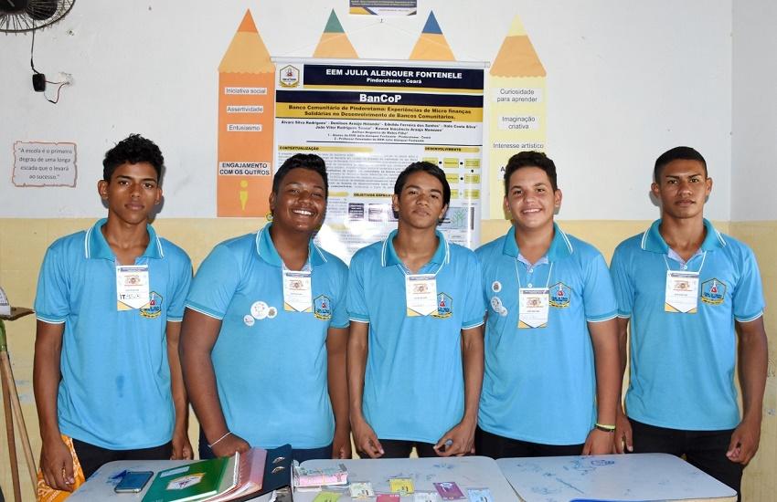 Estudantes criam banco comunitário e moeda social em Pindoretama