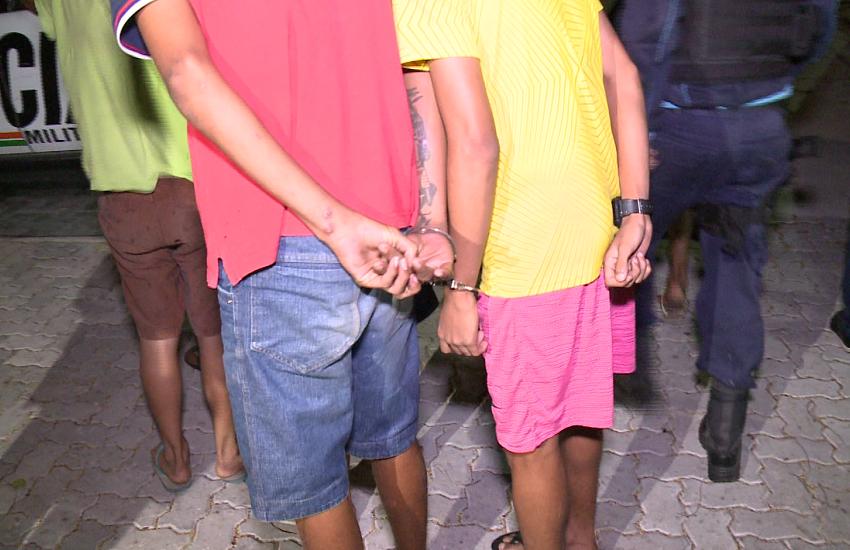 Nove adolescentes são apreendidos após fazerem arrastões na Praia de Iracema