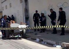 O caso aconteceu na Barra do Ceará (FOTO: Reprodução/Whatsapp)