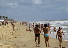 Afogamento aconteceu na Praia do Futuro. (Foto: Arquivo/Tribuna do Ceará)