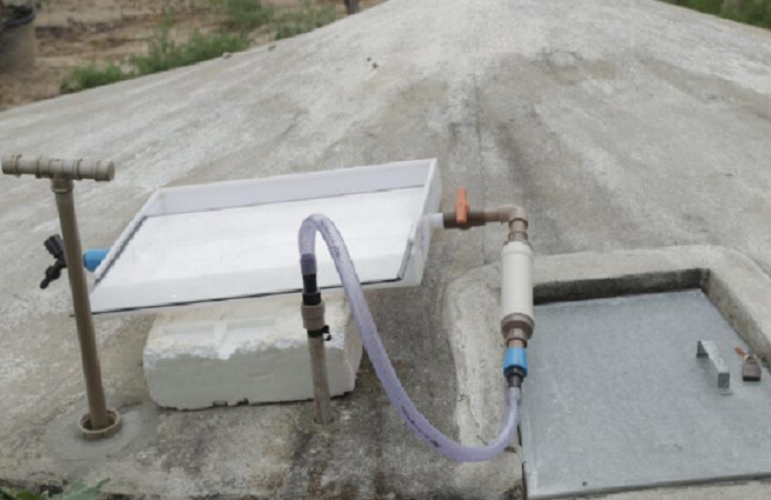 Estudantes criam sistema de filtragem de água baseada em luz solar