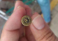 Houve troca de tiros entre a polícia e os bandidos (FOTO: Reprodução/Whatsapp)