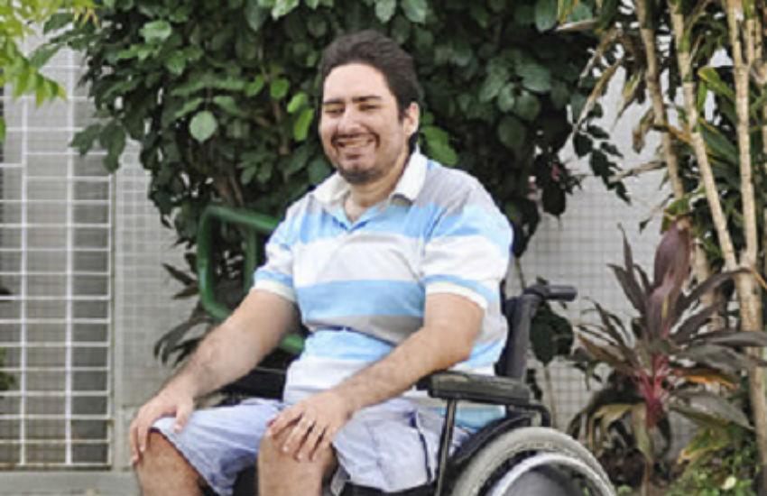 Aluno cego e cadeirante vira exemplo ao se tornar o 1º mestre com deficiências múltiplas no N-NE