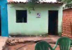 Suspeitos invadiram a casa de um agricultor para fugir da Polícia em Milagres. (Foto: Reprodução/Miséria)