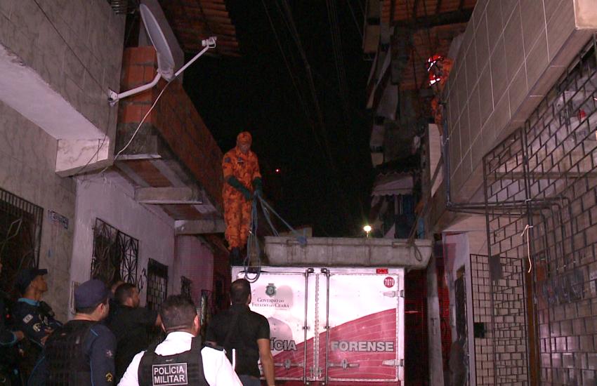 Mãe de 5 filhos é executada por bando numeroso dentro de casa em Fortaleza