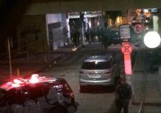 A tentativa de assalto a banco em Milagres deixou 14 pessoas mortas (FOTO: Reprodução/ Whatsapp)