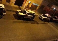A tentativa de assalto aconteceu nesta sexta-feira (7) (FOTO: Reprodução/ Whatsapp)