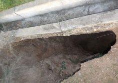 Moradores temem o rompimento da barragem com início das chuvas (FOTO: Reprodução/ Facebook)